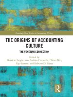 Massimo Sargiacomo - The origin of accounting culture