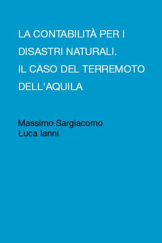 Sargiacomo-Ianni contabilita disastri naturali