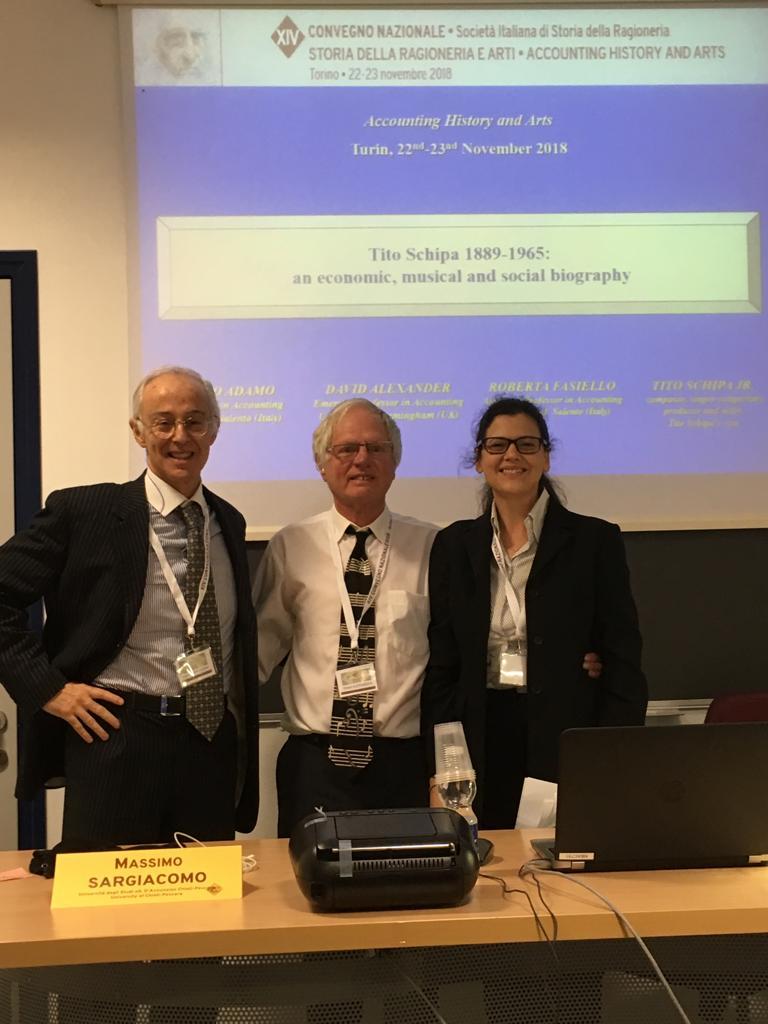 Torino 2018: Accounting History And Arts